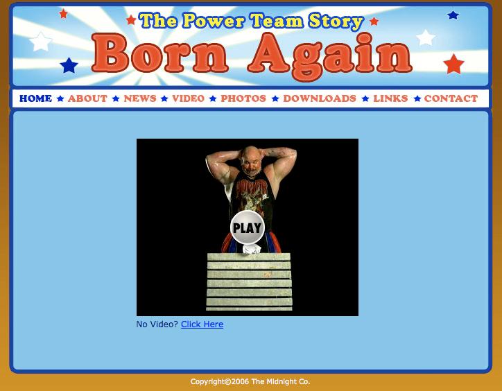 Born Again Trailer Page