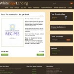 White Sage Landing - Product Page after Re-Design