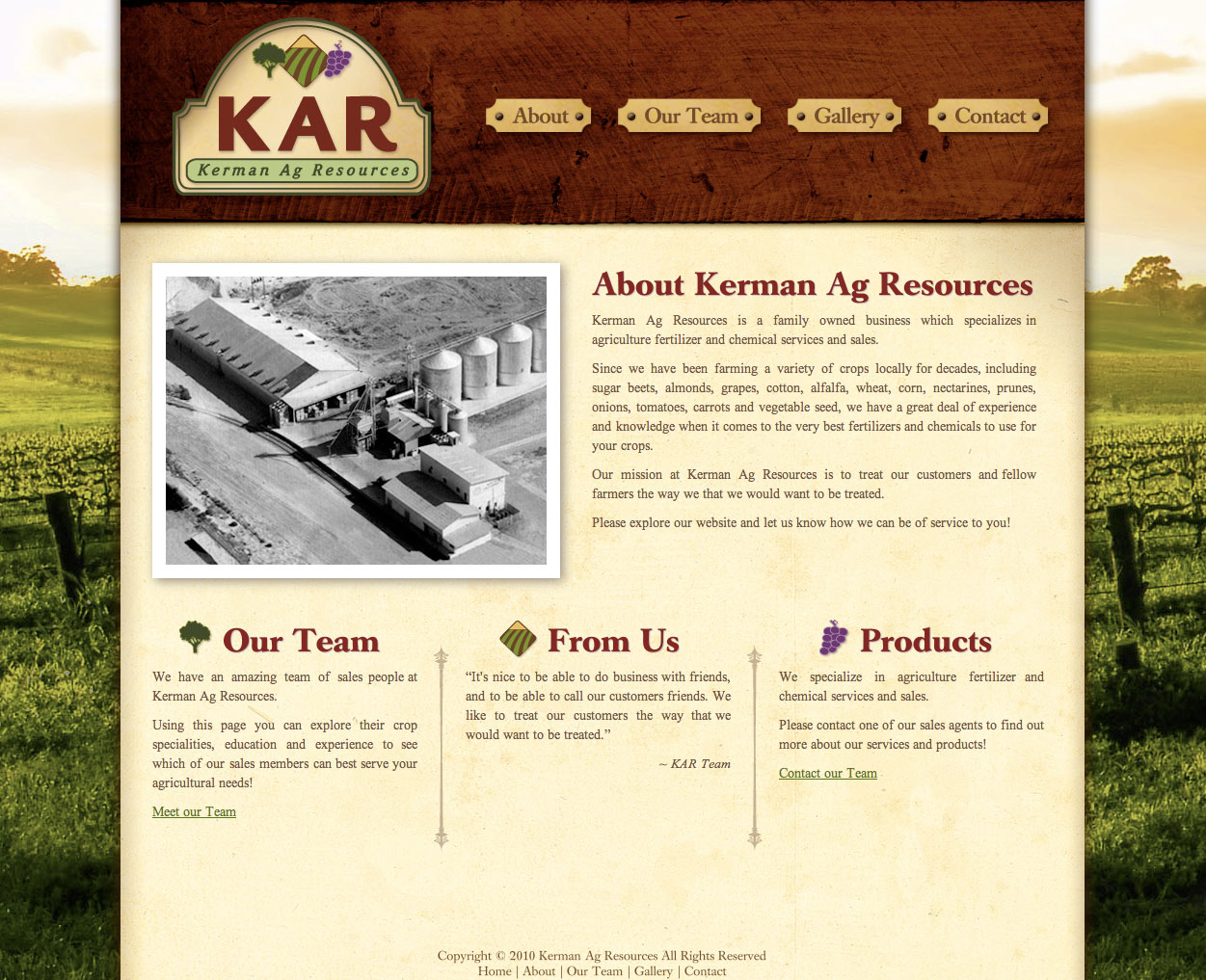 Kerman Ag Resources Homepage