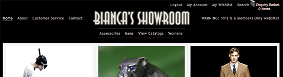 Bianca's Showroom