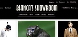 Bianca's Showroom Login