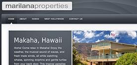 Marilana Properties, Homepage