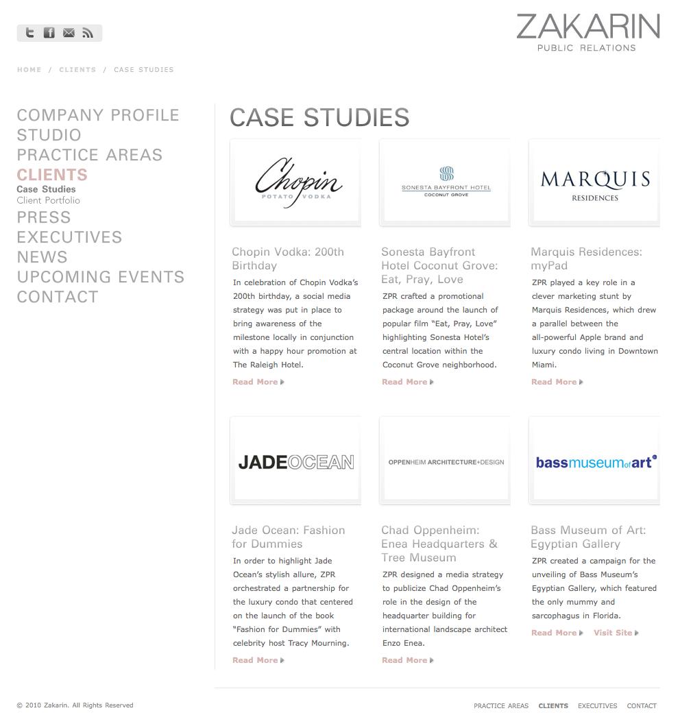 Zakarin Case Studies Page