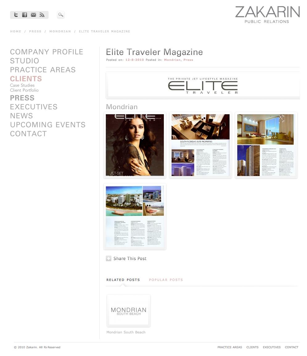 Zakarin Press Page