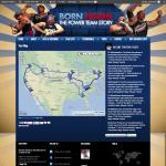 Tourmap of Power Team
