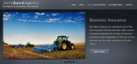 Jerry Baird Insurance Portfolio Page
