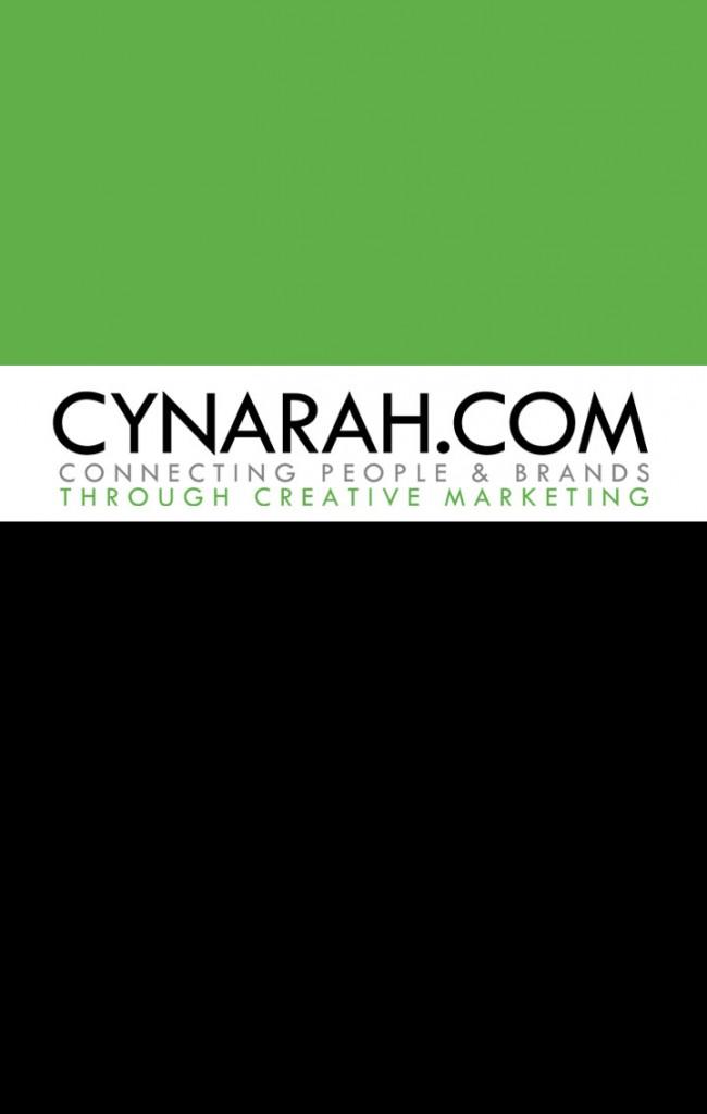 Cynarah Business Card Front