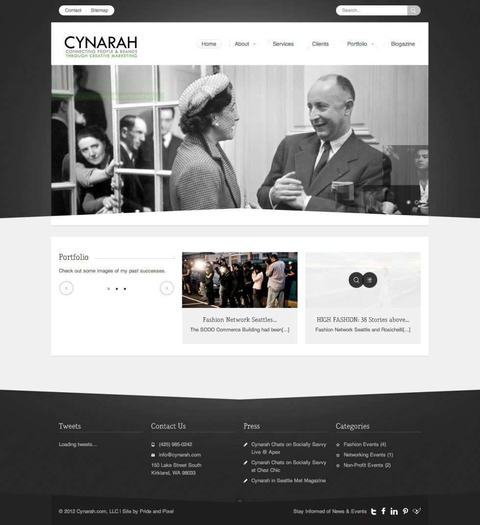 Cynarah Home Page