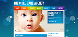 Homepage for The Child Care Agency