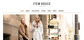 Item House - Homepage