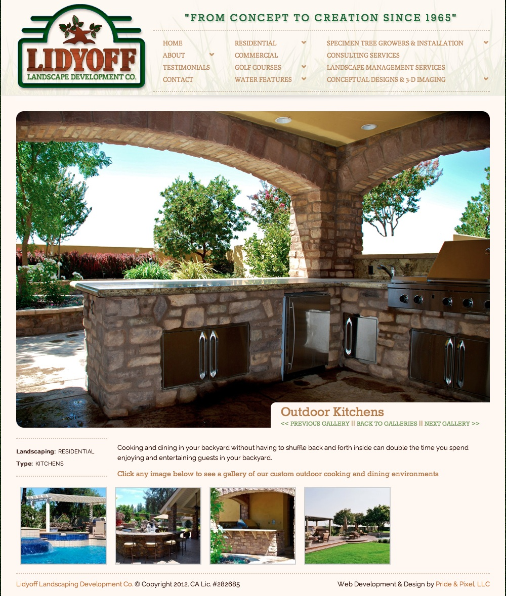 Lidyoff Outdoor Kitchens