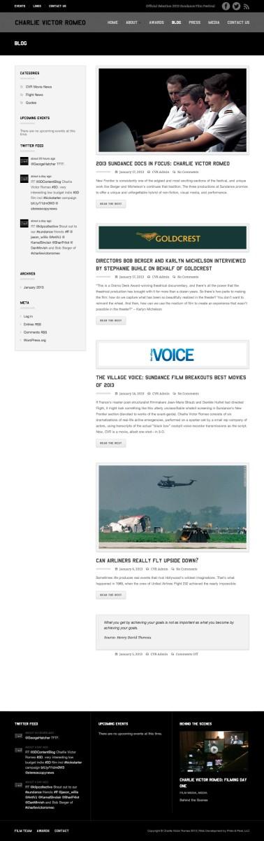 Charlie Victor Romeo News | Charlie Victor Romeo
