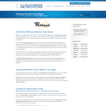 Whirlpool Washer Dryer Repair by All Valley Washer Dryer Repair