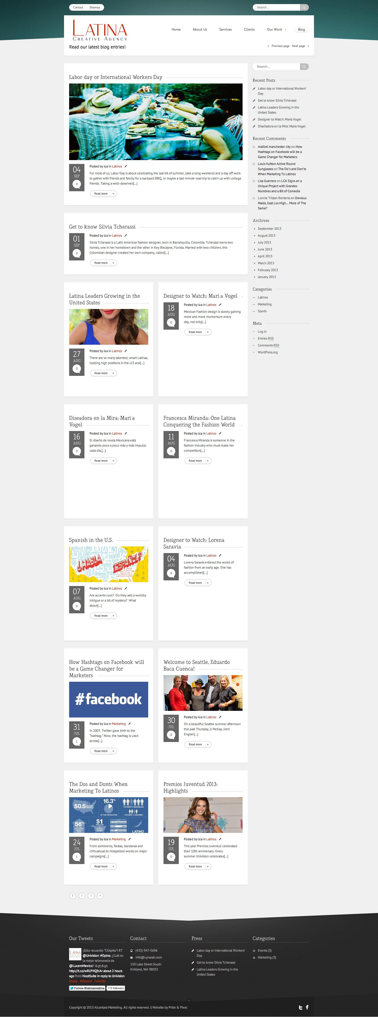Latina Creative Agency Blog