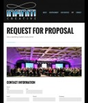 Infiniti Creative Request For Proposal Page