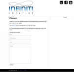 Before - Infiniti Creative Contact Page