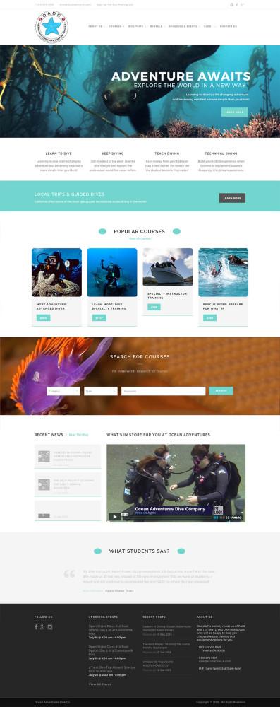 Ocean Dive Adventures Home Page