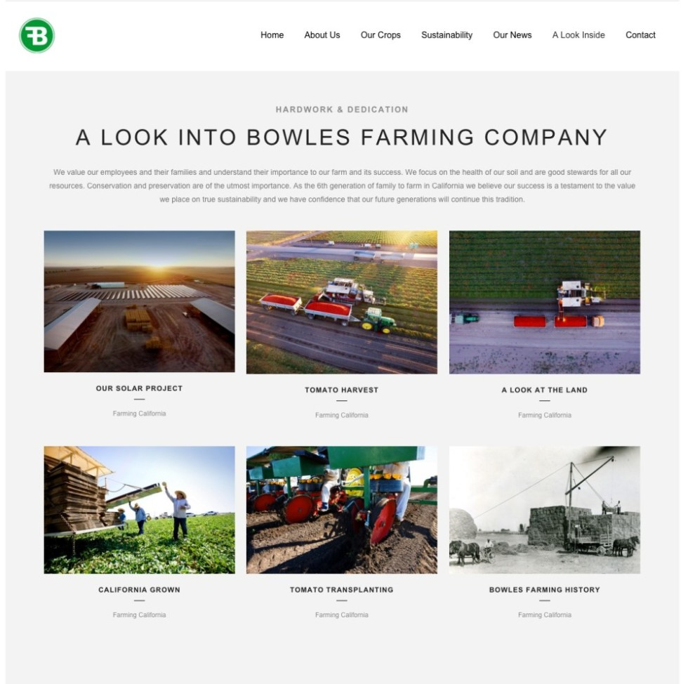 Bowles Farm Gallery Page