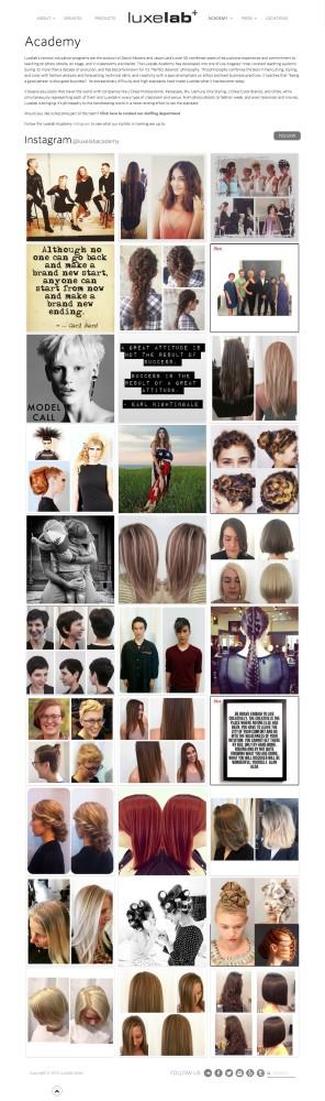 LuxeLab Salon Academy