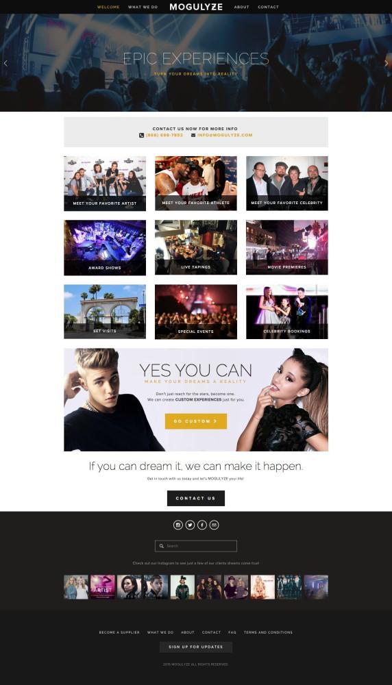 MOGULYZE Homepage