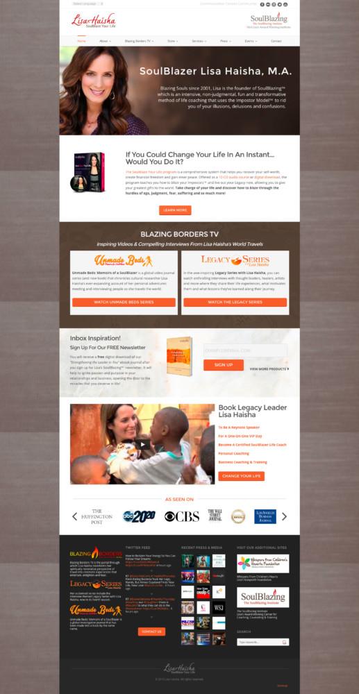 Lisa Haisha Homepage