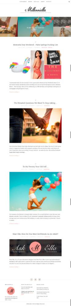 Millenniella Homepage