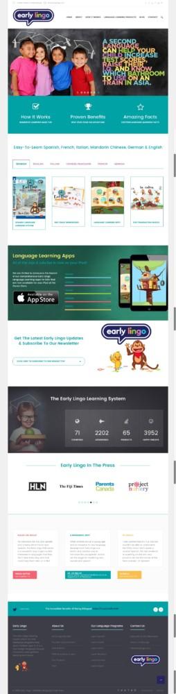 New Early Lingo Homepage