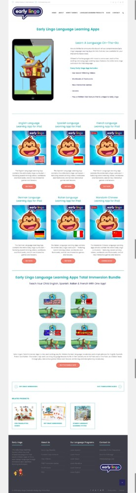Early Lingo Language Learning Apps
