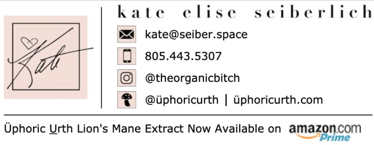 The Organic Bitch email signature by Happy Hippotpoatm.us