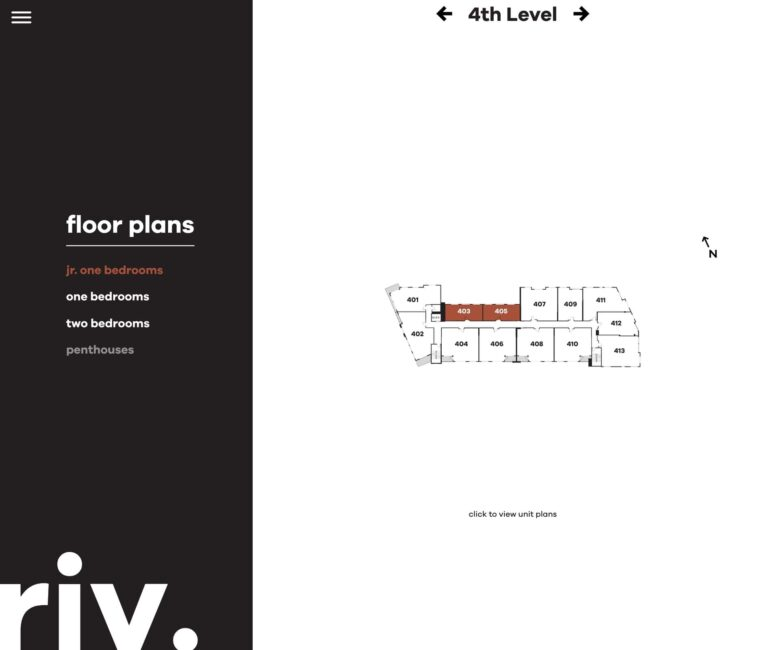 floorplan per floor section | Live Riv