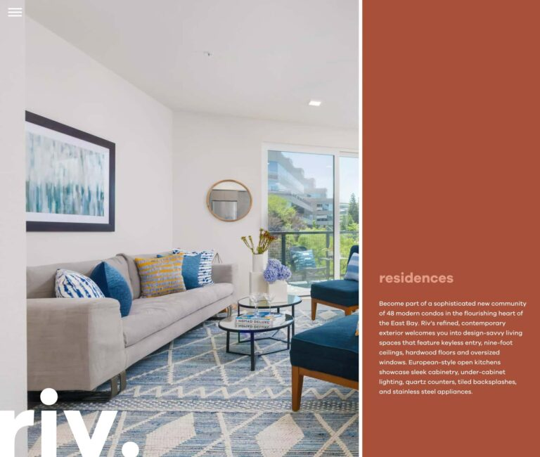 residences section | Live Riv