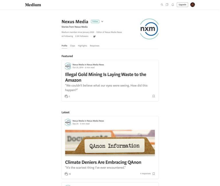 Nexus Media News View on Medium