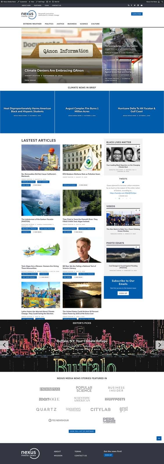 Homepage |Nexus Media News